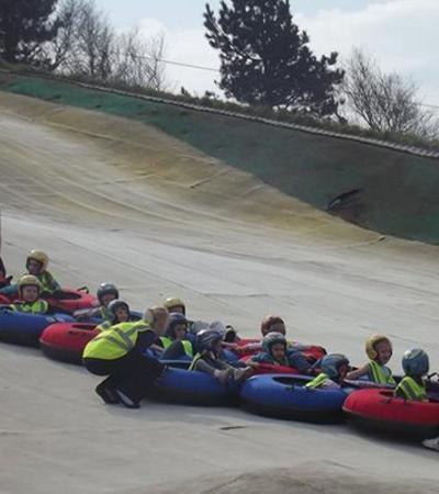 Kids tubing at Sportsman Inn and Leisure in Halifax
