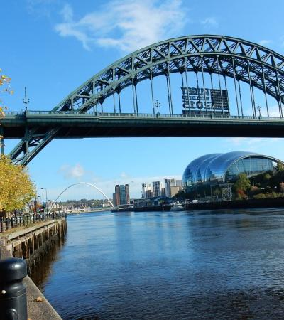 Tyne bridge on Curious About Newcastle trail