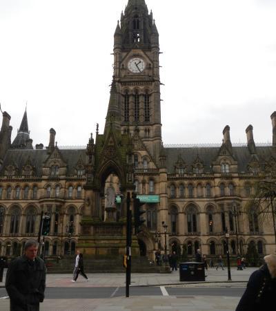 City Centre on huntfun Manchester trail