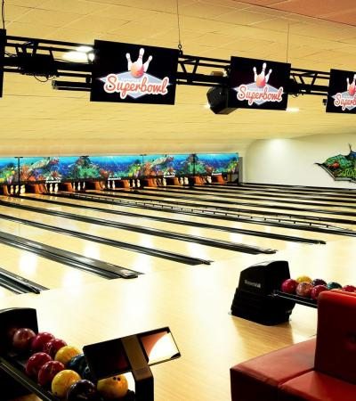 Bowling alleys at Mansfield Superbowl
