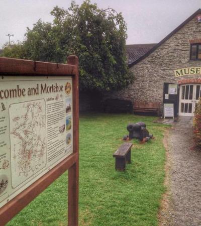 Outside view of Mortehoe Museum in Woolacombe