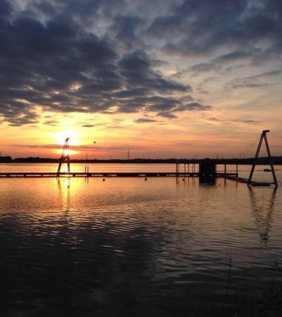 Sunset at Wakelake in Walsall