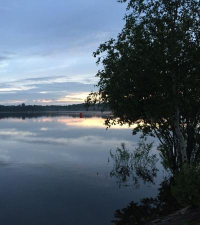 Lake at Chasewater Country Park in Brownhills