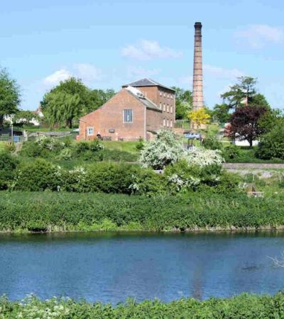 Outside view of Crofton Beam Engines in Marlborough