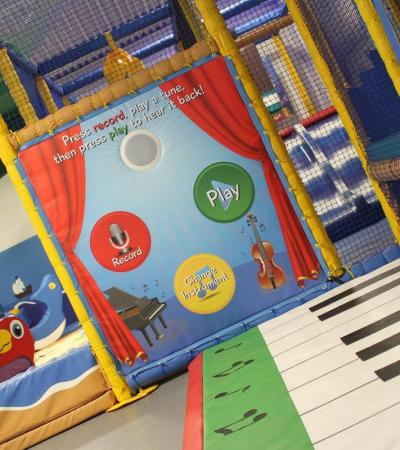 Indoor soft play frame at Water Meadows in Mansfield