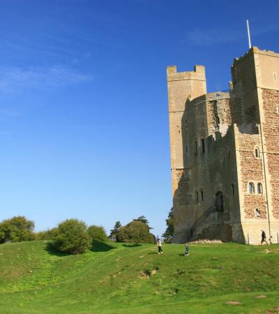 Outside view of Orford Castle in Woodbridge