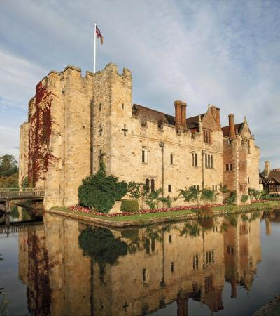 Outside view of Hever Castle and Gardens