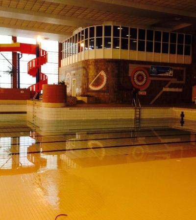 Swimming pool at North Herts Leisure Centre in Letchworth