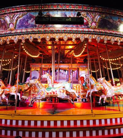 Merry go round at Thursford Collection in Fakenham