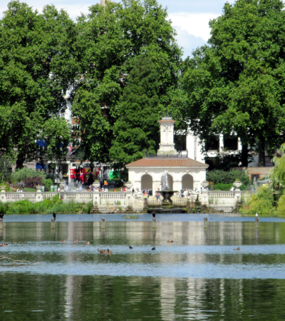Italian Gardens at Kensington Gardens