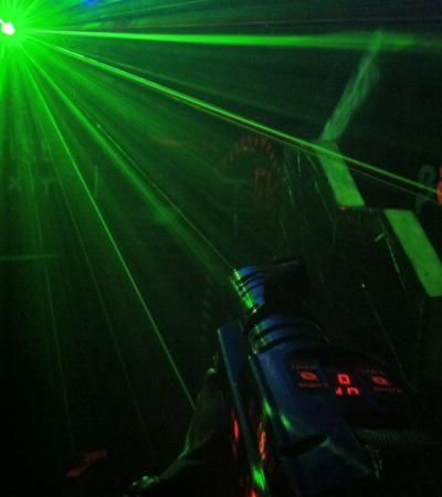 Lasers at Quasar Norwich