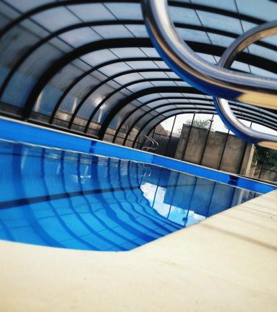 Swimming pool at Wotton Pool in Wotton-under-Edge