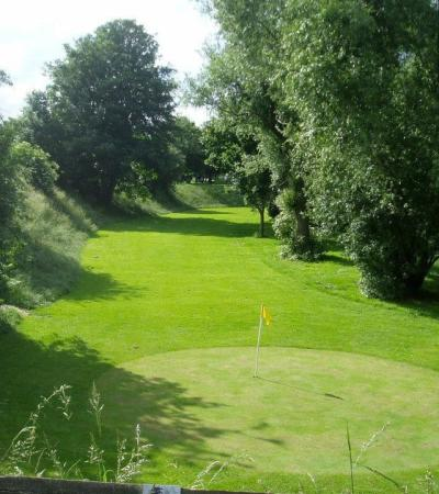 Golf hole at West Park Pitch Putt and Crazy Golf in Chelmsford