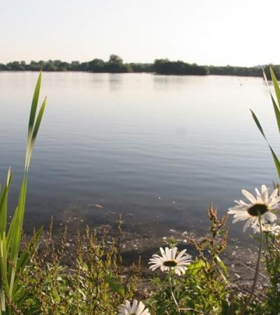 Lake at Branston Water Parks in Burton upon Trent