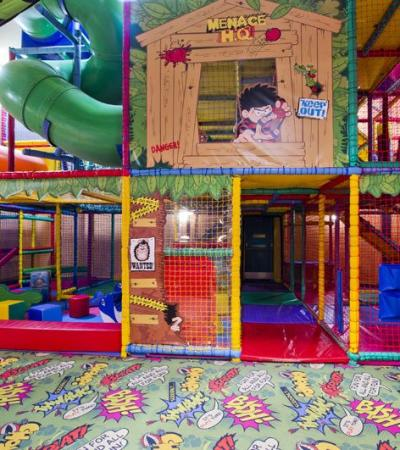 Indoor soft play frame at Brewers Fayre Broadland View in Norwich