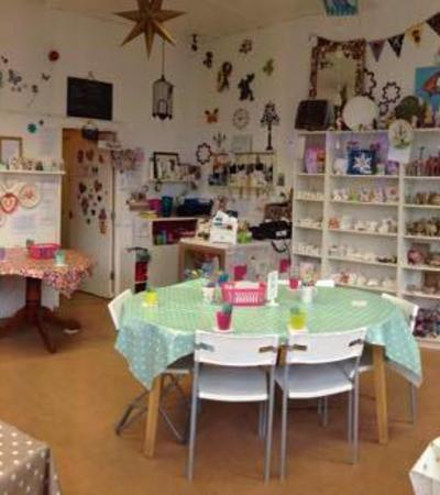 Studio at The Painted Teapot in Dronfield