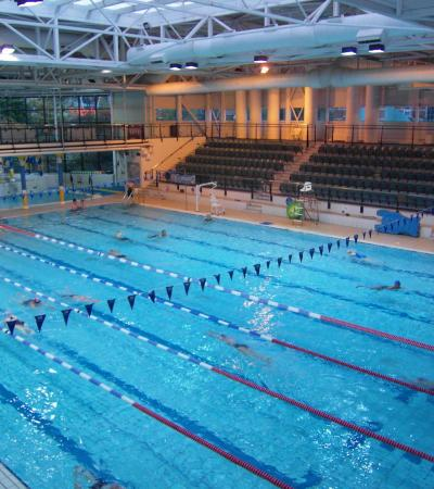 Swimming pool at Magnet Leisure Centre in Maidenhead