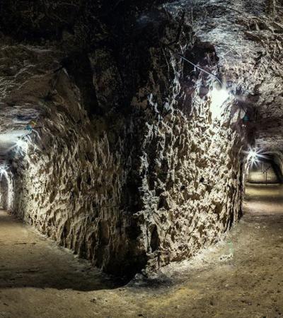 Underground tunnels at Ramsgate Tunnels