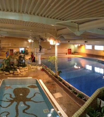 Swimming pools at Leicester Leys Leisure Centre
