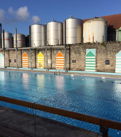 Swimming pool at Shepton Mallet Outdoor Pool