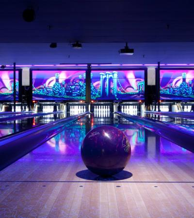 Bowling alleys at Strikes Kings Lynn