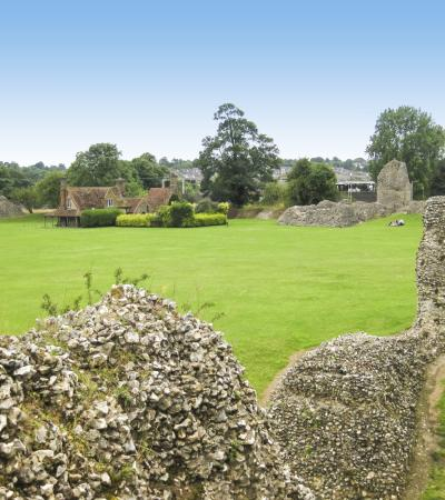 Ruins at Berkhamsted Castle
