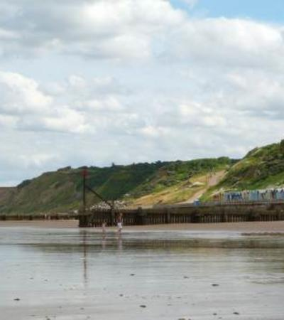 A view of Overstrand Beach, Cromer