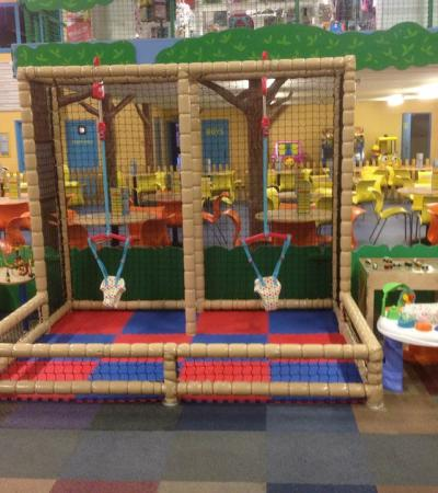 Toddler soft play area at Go Bananas Indoor Soft Play Centre in Colchester