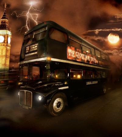 The London Ghost Bus Tour night bus
