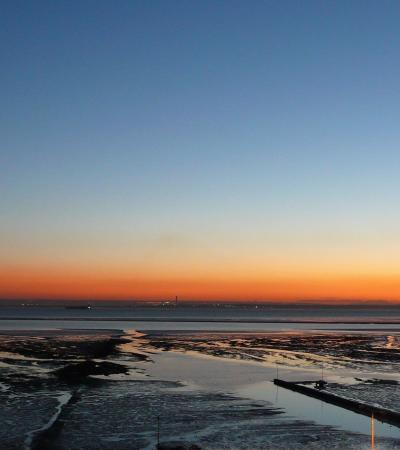 Dusk at Westcliff Bay Beach