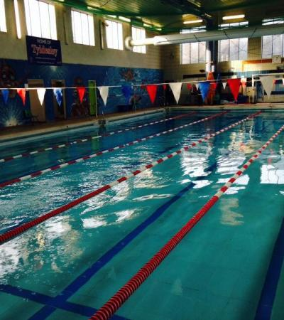 Swimming pool at The Pelican Centre in Tyldesley