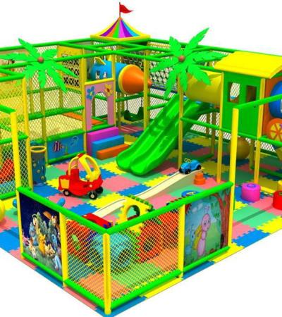 Indoor soft play frame at The Hive in Shefford