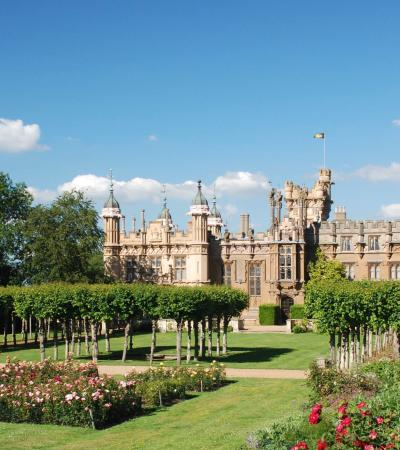 Garden at Knebworth House Gardens and Park