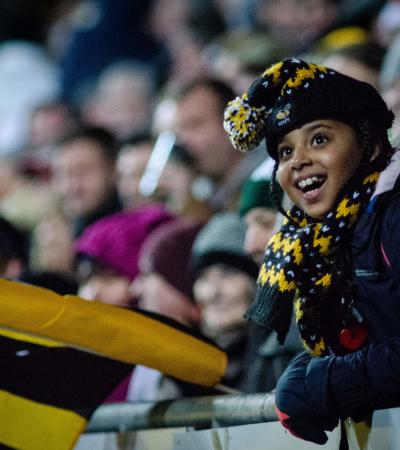 Wasps Rugby at the Ricoh Arena