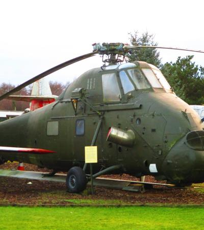 Helicopter at Dumfries and Galloway Aviation Museum