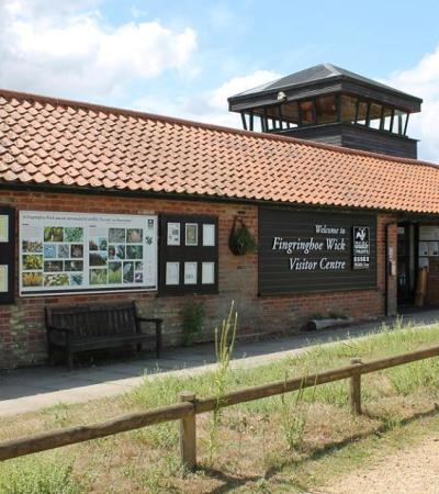 Visitor centre at Fingringhoe Wick Nature Reserve