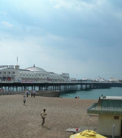 Brighton Pier on huntfun Brighton trail
