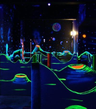 Laser tag arena at Quasar Sheffield