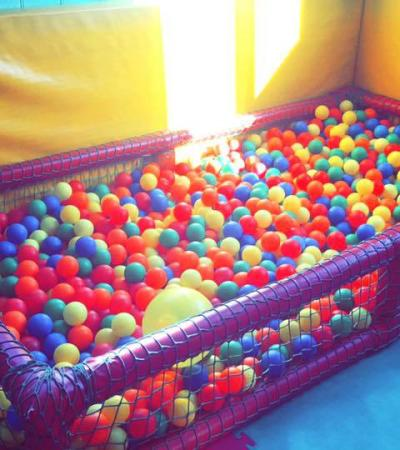 Ball pit at Tumbling Teds Playhouse in Newton Abbot