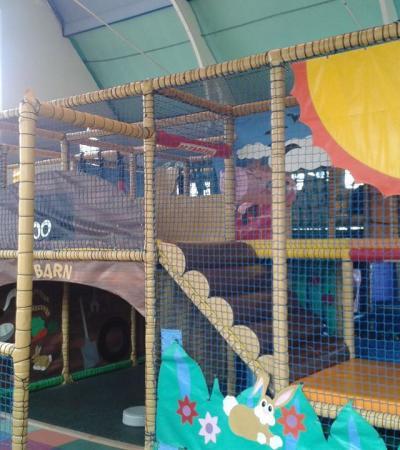 Indoor soft play frame at Noahs Ark Shepshed