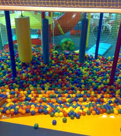 Ball pit at Playtime in Sheffield