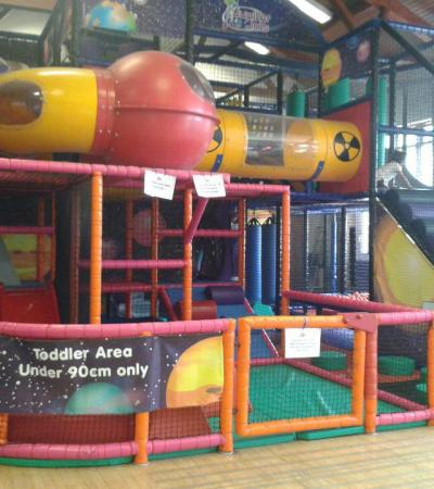 Toddler soft play area at Jupiter Jos in West Ewell