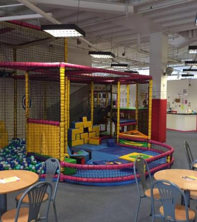 Toddler soft play area at Mini Mayhem in Crawley