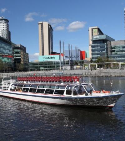 Passengers on Manchester River Cruises