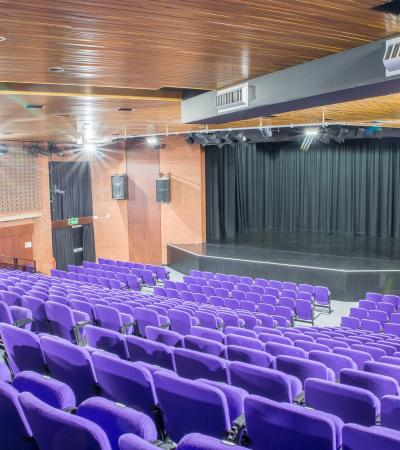 Auditorium at Hertford Theatre