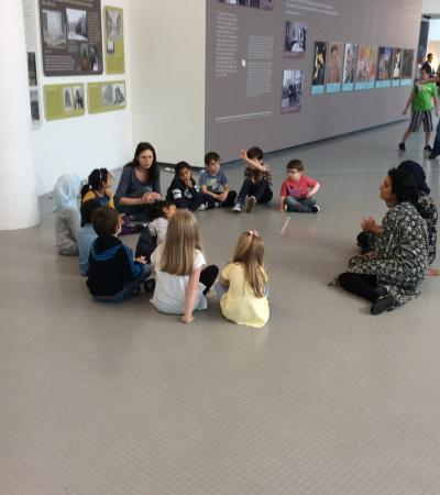 Kids at The Lowry in Greater Manchester