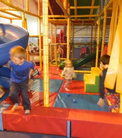 Toddler soft play area at Wam Bam Boomerang in Burnhan on Crouch