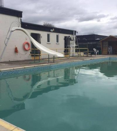 Outdoor swimming pool at Metheringham Swimming Pool