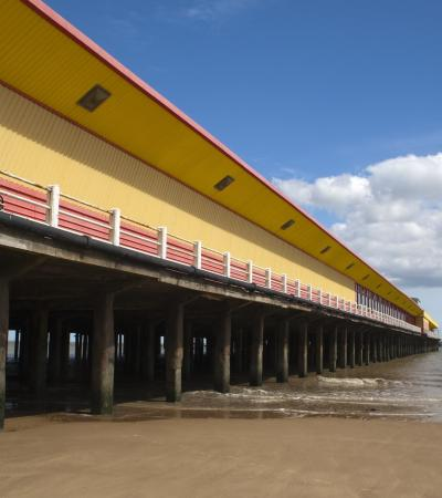 Walton Pier in Walton-on-the-Naze