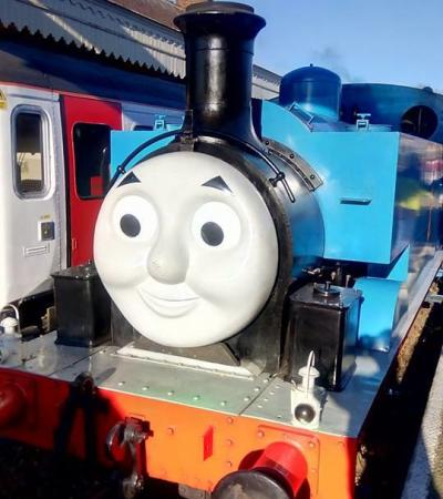 Thomas the Tank at East Anglian Railway Museum in Colchester